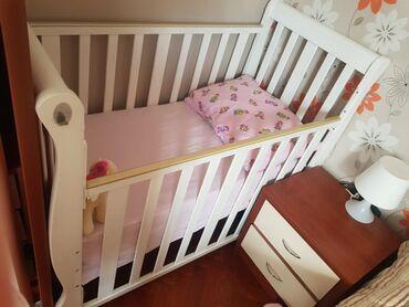 Детская кроватка б/у. Отдам вместе с матрасом. Самовывоз с Ясамала