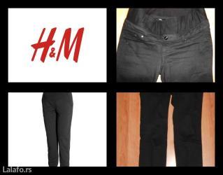 Pantalone trudnicke crne poznatog brenda h&m kao nove - Belgrade