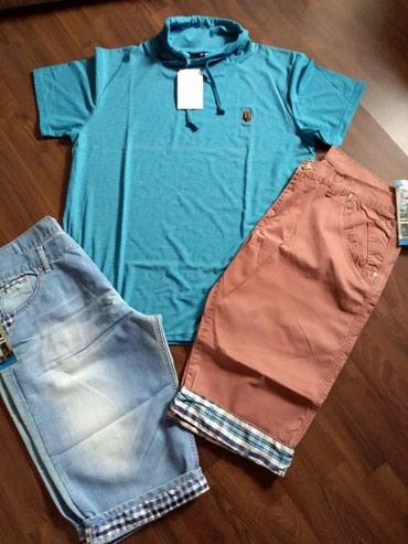 Paket letnje garderobe za muškarce. Veličina majice xxl, širina - Ruma