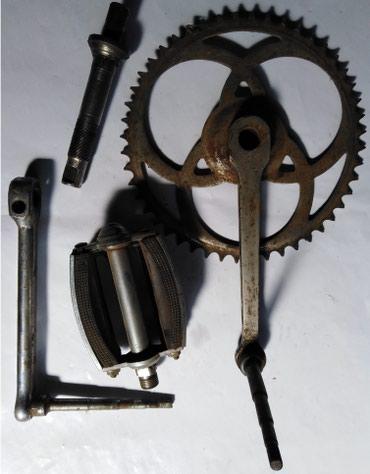 Biciklo - Srbija: Veliki lančanik,srednja glava,pedale za biciklo, lančanik fi-200mm sa