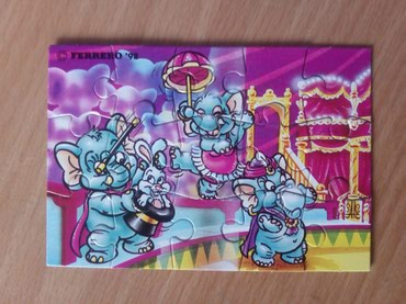 Kinder Funny Elephant Circus (1998) PUZZLE - Cacak