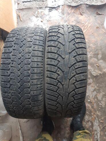 Зимние шины 2 штук разнопарки