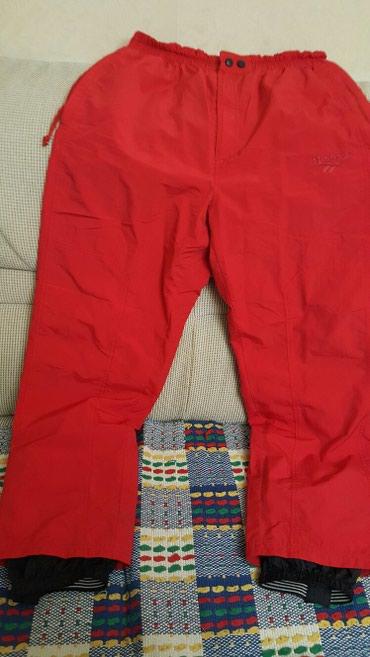 Poluobim-struka - Srbija: Ski pantalone,velicina L nekoriscena, sirina struka 38 cm.duzina 109