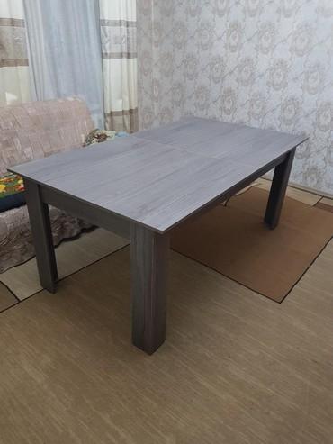 стол трансформер чёрного цвета в Кыргызстан: Продаю стол трансформер новый, размером
