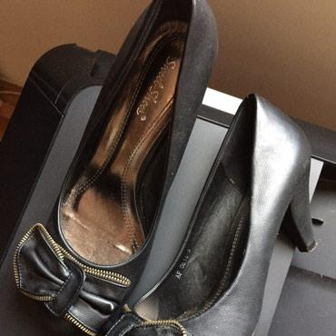 Cipele sa mašnom. Veoma dobro očuvane. Veličina 38/39 - Sokobanja