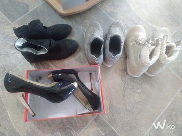 50 oglasa | OSTALA ŽENSKA OBUĆA: Obuća očuvana prve crne 36 i baletanke su 36a ostala obuća je broj