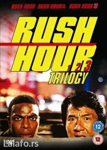 Gas do daske [Rush Hour] kolekcija [3 filma, sa prevodom]Sva 3 filma