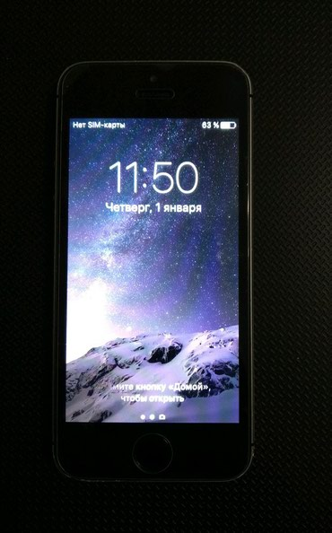 Iphone 5s 16gb space grey в Бишкек