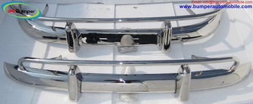 Volvo PV 544 US type bumper set (1958-1965) in Banepa