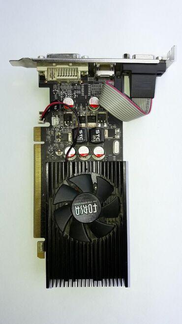 creative-audigy-2-value-sb0400 в Кыргызстан: 1. Видеокарта Geforce GT 220 - 800 с. 2. Видеокарта