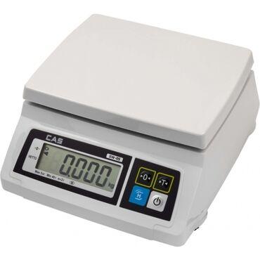 Другая бытовая техника - Кыргызстан: Весы CAS SW 5 - практичные фасовочные весы бюджетной серии