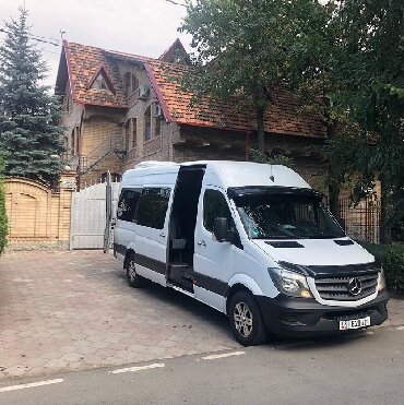 Бус на заказ VIP Mersedes Sprinter Пассажирские перевозки на комфортаб