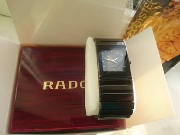 saat rado - Azərbaycan: Rado jubile:Kvars mexanizm,ay tarixi,safhir şüşe(cızılmayan),Korpus ve