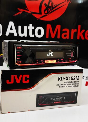 Автоэлектроника - Кыргызстан: Jvc kd- x152m - оригинальная магнитола от японской компании. Бесшумное