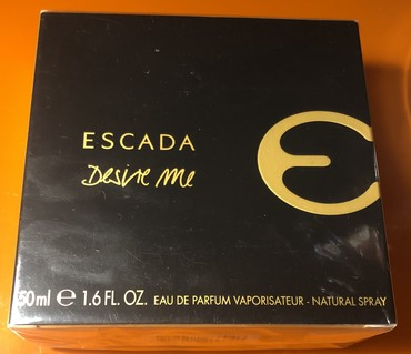 Escada - Desire Me. Duty Free-dan alinib 70 dollara. satilir 130