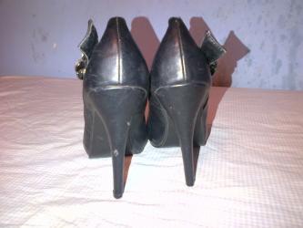 Odan-materijal-broj - Srbija: Zenske cipele cizmice broj 38-duzina gazista je 24 cm.- bez