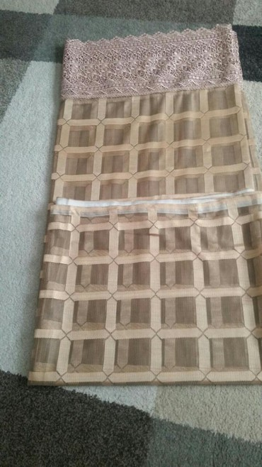 Nova zavesa 5 m a visina 1.70.Prava boja cipke sr vifi na predznanju - Pirot