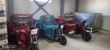 аккумуляторы в бишкеке в Кыргызстан: Продаю электромотороллер грузовой производства Китай. Грузоподъёмность