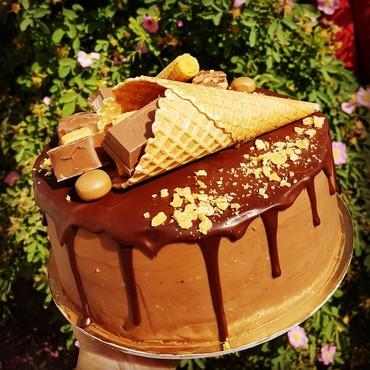 Торты на заказ,  трюфельный тортик.  в Бишкек