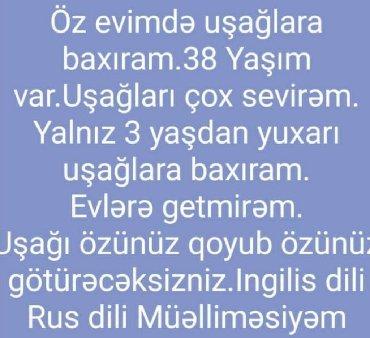 dayə işi axtarıram 2018 - Azərbaycan: Dayə işi axtarıram