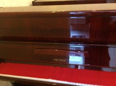 Bakı şəhərində Avropa istehsali akustik piano. Aletlere magazamiz terefinden 1-2 il