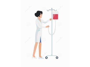 Медицина, фармацевтика - Бишкек: Капельницы на дому! Внутримышечно 50с Внутривенно 100с Капельницы 200с