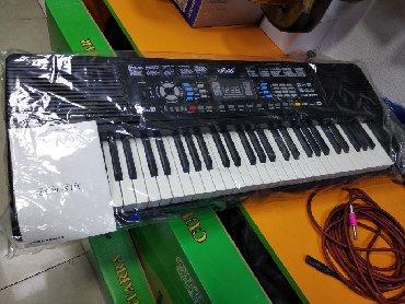 Elektron pianino - Azərbaycan: Pianino elektron 5 oktava həcmində fləş kartli mikrafonluYeni