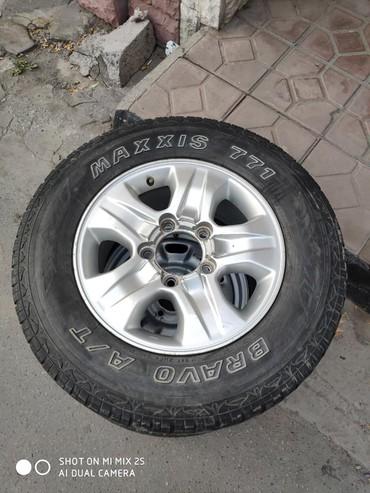 Запаска 265/65/17. Раболтовка 5*150 в Бишкек