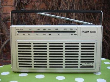 Stari nemački radio tranzistor sanwa 6030, proizveden davne 1985. - Novi Sad