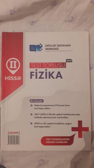 qehbe nomreleri bakida 2018 в Азербайджан: Fizika 2hissə 2018