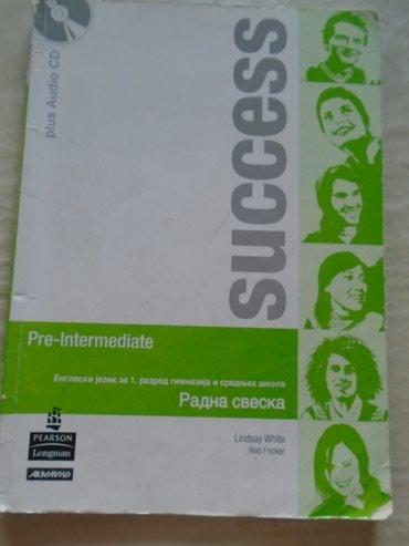 Radna sveska iz engleskog jezika Success, za prvi razred gimnazije i - Belgrade