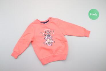 Дитячий світшот з принтом бренду Lupilu, вік 1-2 р., зріст 86-92 см