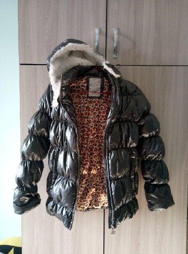 Зимняя куртка на пуху На девочку 12 лет Состояние отличное