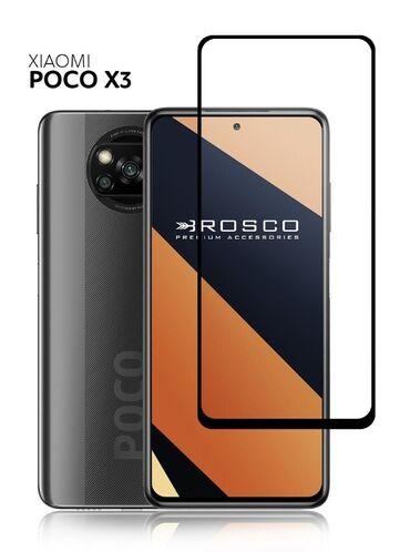 защитные стекла в Кыргызстан: Продаю фирменное стекло на Poco X3С олеофобным покрытием .Такое же как