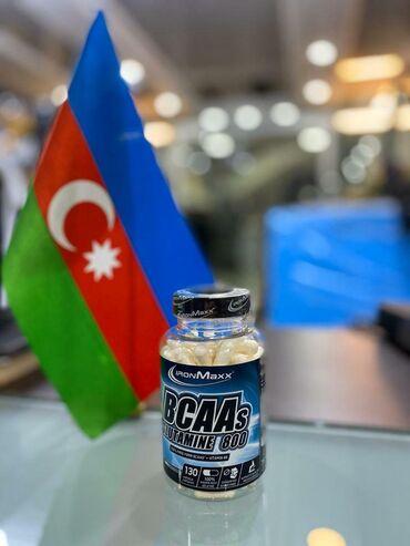 - Azərbaycan: BCAA's+Glutamine 130 capsules #ironmaxx #BCAAAminoProteinİdman qidası