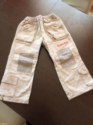 Pantalone sa dzepovima za uzrast od 4-6 godina. - Kraljevo
