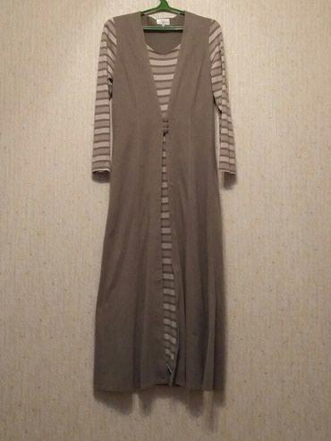 Продаю платье. Б/У. в отличном состоянии. Размер 44. Трикотаж. в Бишкек