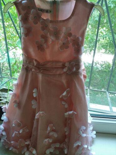 саженцы персика в бишкеке в Кыргызстан: Продаю красивое платье на 3-5 одевали 2 раза.Цвет персик