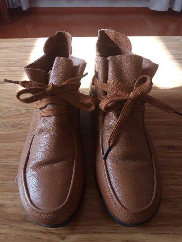 Женские ботинки, натуральная кожа, коричневый цвет. 38 размер