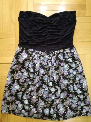 Tally Weijl haljina velicina M,moze i za L. Gornji deo rastegljiv. - Bajina Basta