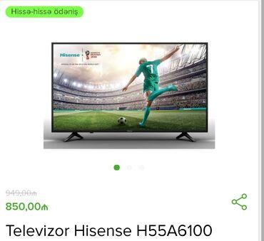 smart tv - Azərbaycan: Almaniya Brendi Hisense Smart Tv 55 ekran10 %endirimle Cemi 765