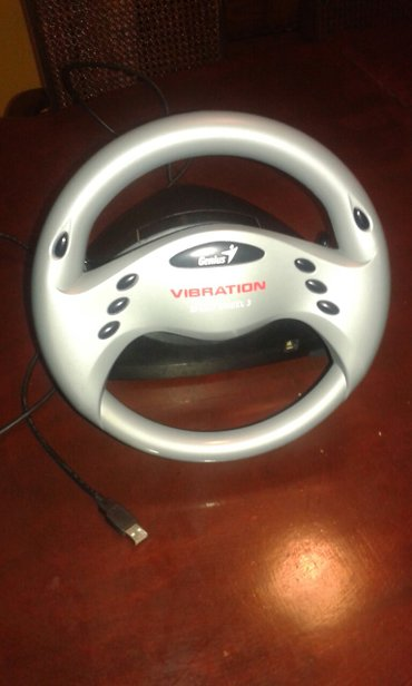 Genius speed wheel 3 vibration. Volan i pedale za kompjuter. - Beograd