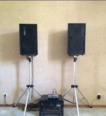 музыкальная-колонка в Кыргызстан: Прекрасный звуковой комплект для свадеб, бара, кафеДве колонки по