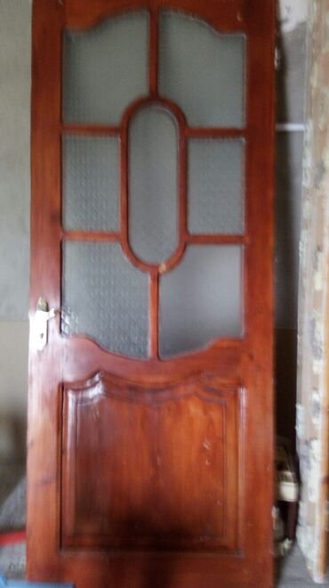 Дом и сад - Ашагы-Гюздек: Двери   Дерево   Азербайджан