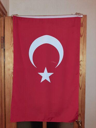 Digər - Azərbaycan: Azeri ve Turk bayraqlari