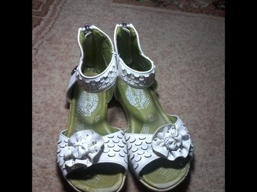 бежевые босоножки в Кыргызстан: Босоножки, на девочку, 31 размер, босоножки белые, ортопедические, на