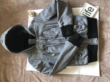 Zimske-jakne - Srbija: ROXY siva jakna XS za prelazno ili zimsko vreme, malo koriscena