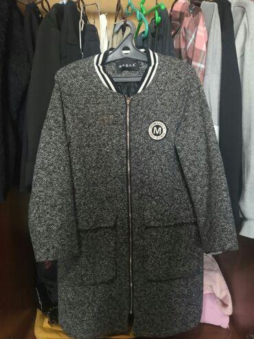 Осення паркаполу пальто .Состояние отличное!размер L