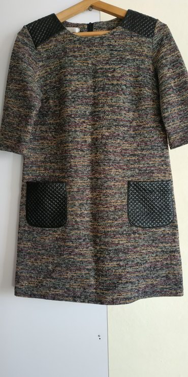 Теплое платье, размер 46-48 состояние хорошее в Кант