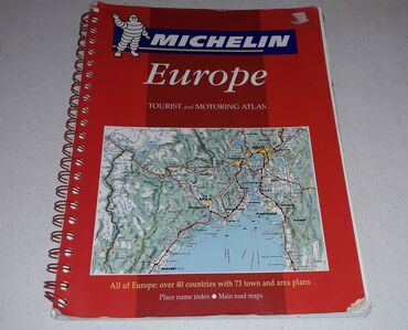 EUROPE (ΑΓΓΛΙΚΗ ΕΚΔΟΣΗ)TOURIST and MOTORING ATLAS – ALL OF EUROPE